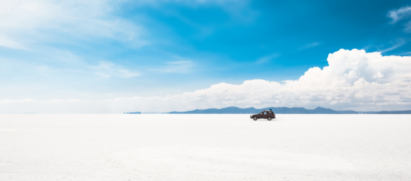 The Salar de Uyuni has globally significant lithium deposits