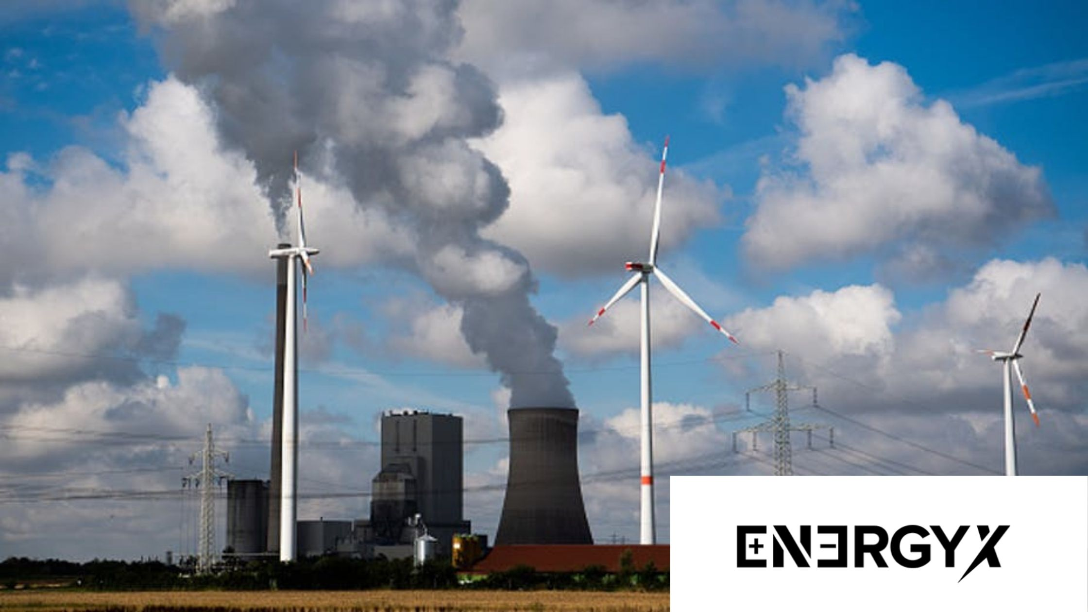 Wind turbines at the Mehrum coal-fired power station in the Peine district in Lower Saxony, Mehrum. The phase-out of coal is planned by 2038. Julian Stratenschulte via GettyImages